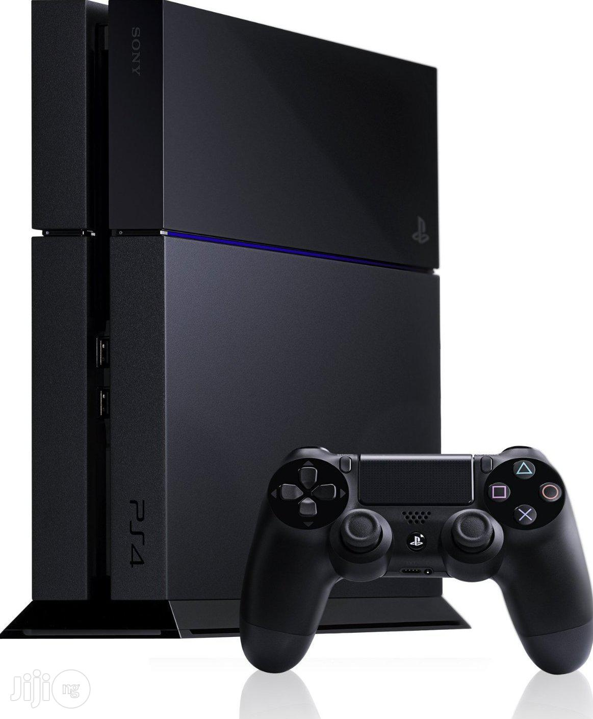 Used Sony Playstation 4 Console - 500GB   Video Game Consoles for sale in Gwarinpa, Abuja (FCT) State, Nigeria