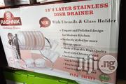Rashnik 18.2 Stainless Plate Rack | Kitchen & Dining for sale in Abuja (FCT) State, Wuse