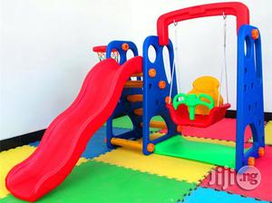 Outdoor 3 In 1 Kids Playground Equipment | Toys for sale in Lagos State, Ikeja