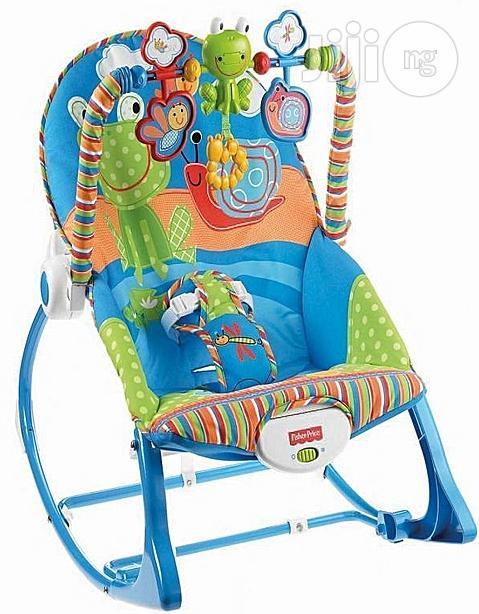 Fisher-price Infant-to-toddler Rocker & Seat - Snails