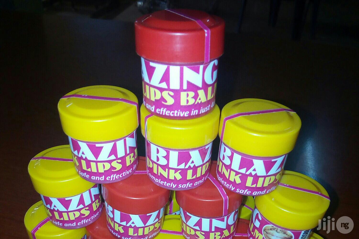 Blazing Permanent Pink/Red Lips Balm | Skin Care for sale in Ilorin South, Kwara State, Nigeria