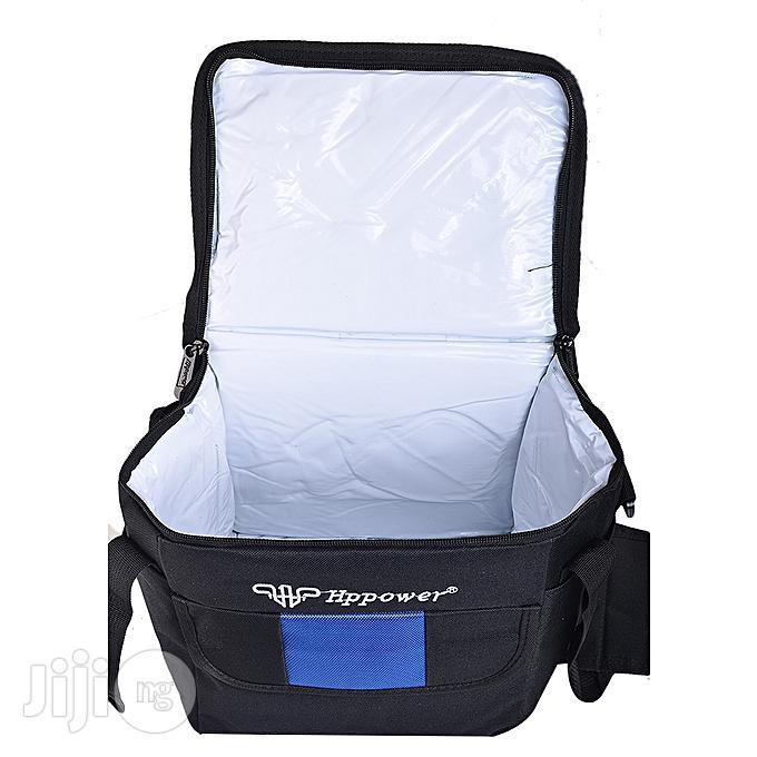 Hppower Lunch Bag- Black