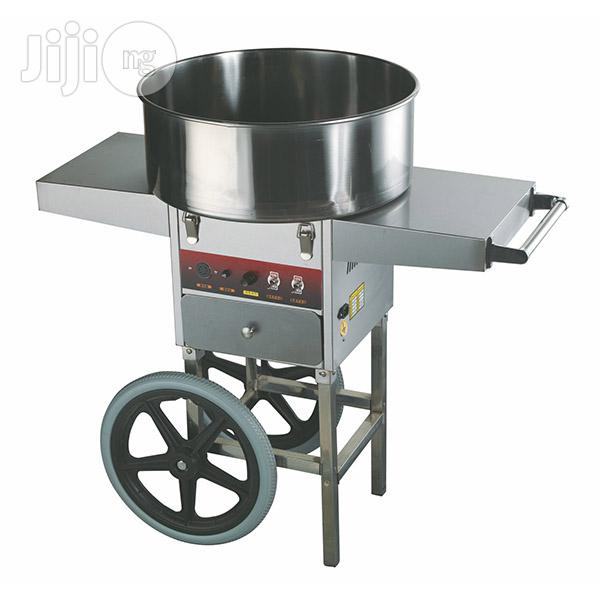 Candy Floss Machine With Cart