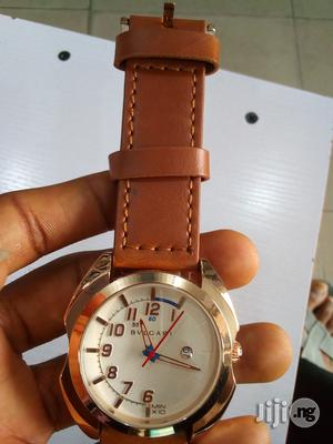 Bvlgari Leather Watch | Watches for sale in Rivers State, Port-Harcourt