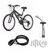 Hitman Adult Sports Bicycle + Hand Pump + Steel Wire Bicyle Lock | Sports Equipment for sale in Lagos State, Lagos Island