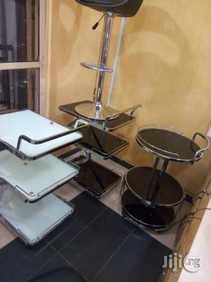 Quality Trolling Design With Quality Glass | Furniture for sale in Lagos State, Lekki