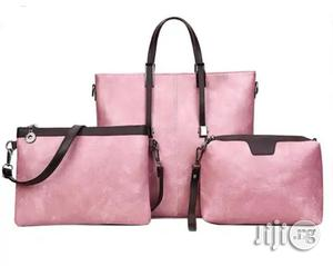 Unique Leather Handbag for Ladies Available in Pink | Bags for sale in Anambra State, Awka