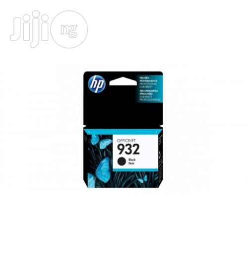932 Black Original Ink Cartridge -HP