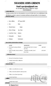 Sales Representative | Sales & Telemarketing CVs for sale in Kebbi State, Suru