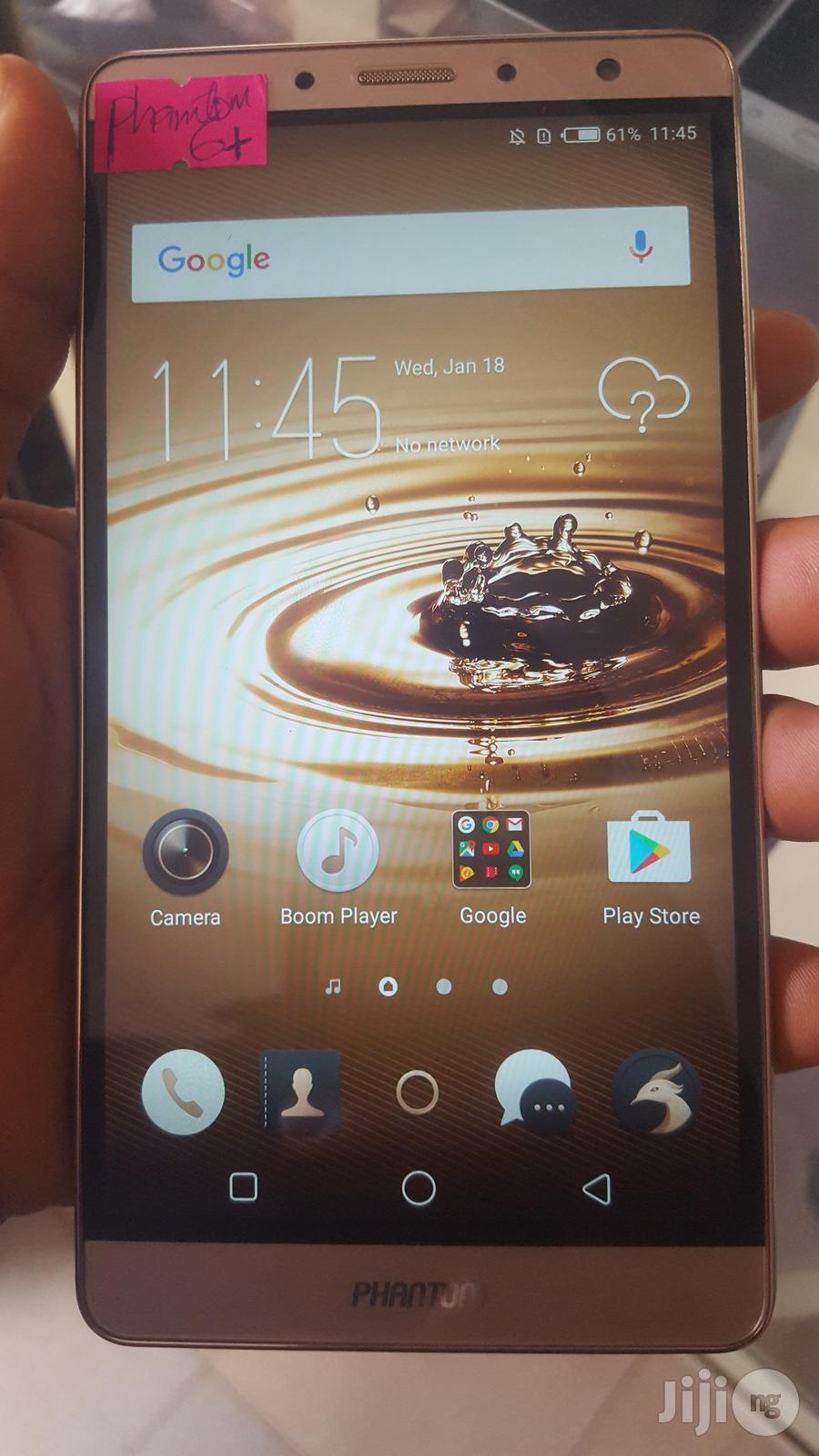 Tecno Phantom 6 Plus 64 GB Gold | Mobile Phones for sale in Ifako-Ijaiye, Lagos State, Nigeria