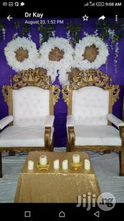 Bride And Groom Chairs Rentals | Party, Catering & Event Services for sale in Lagos State, Lagos Island