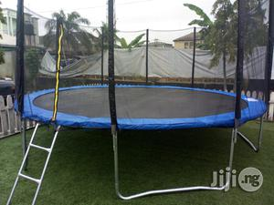 Brand New 15ft Trampoline Bouncer With Ladder   Sports Equipment for sale in Rivers State, Port-Harcourt