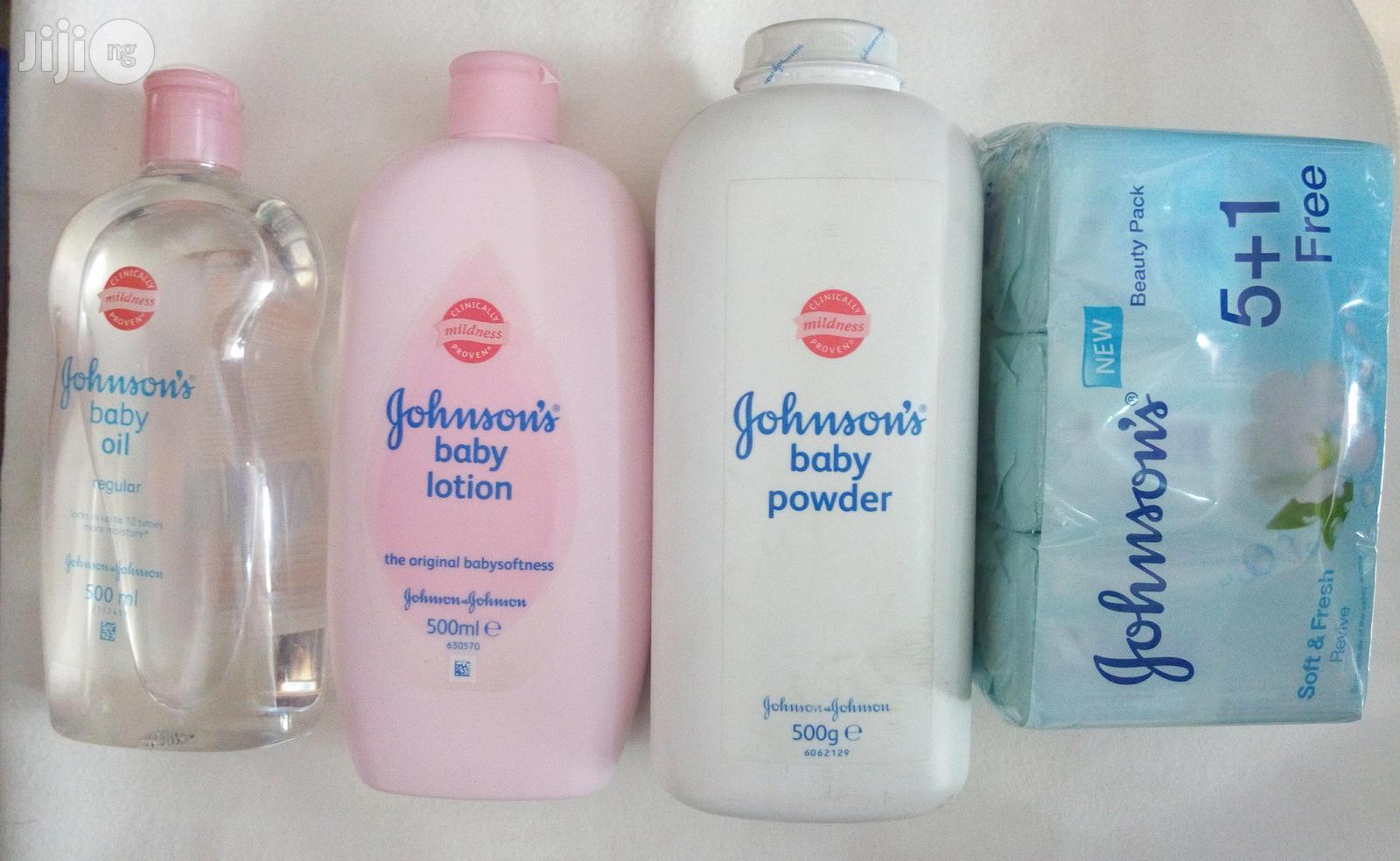 Archive: Johnson Set Wit Bar Soap