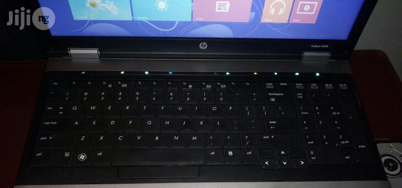 Laptop HP ProBook 6550B 4GB Intel Core i5 HDD 250GB   Laptops & Computers for sale in Port-Harcourt, Rivers State, Nigeria