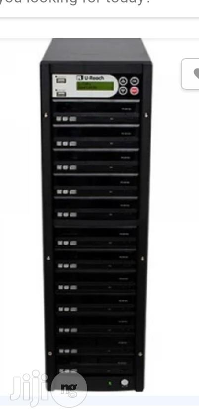 Zenith DVD/CD Duplicator 1-10 Target With LG Rewriter | Computer Accessories  for sale in Ikeja, Lagos State, Nigeria