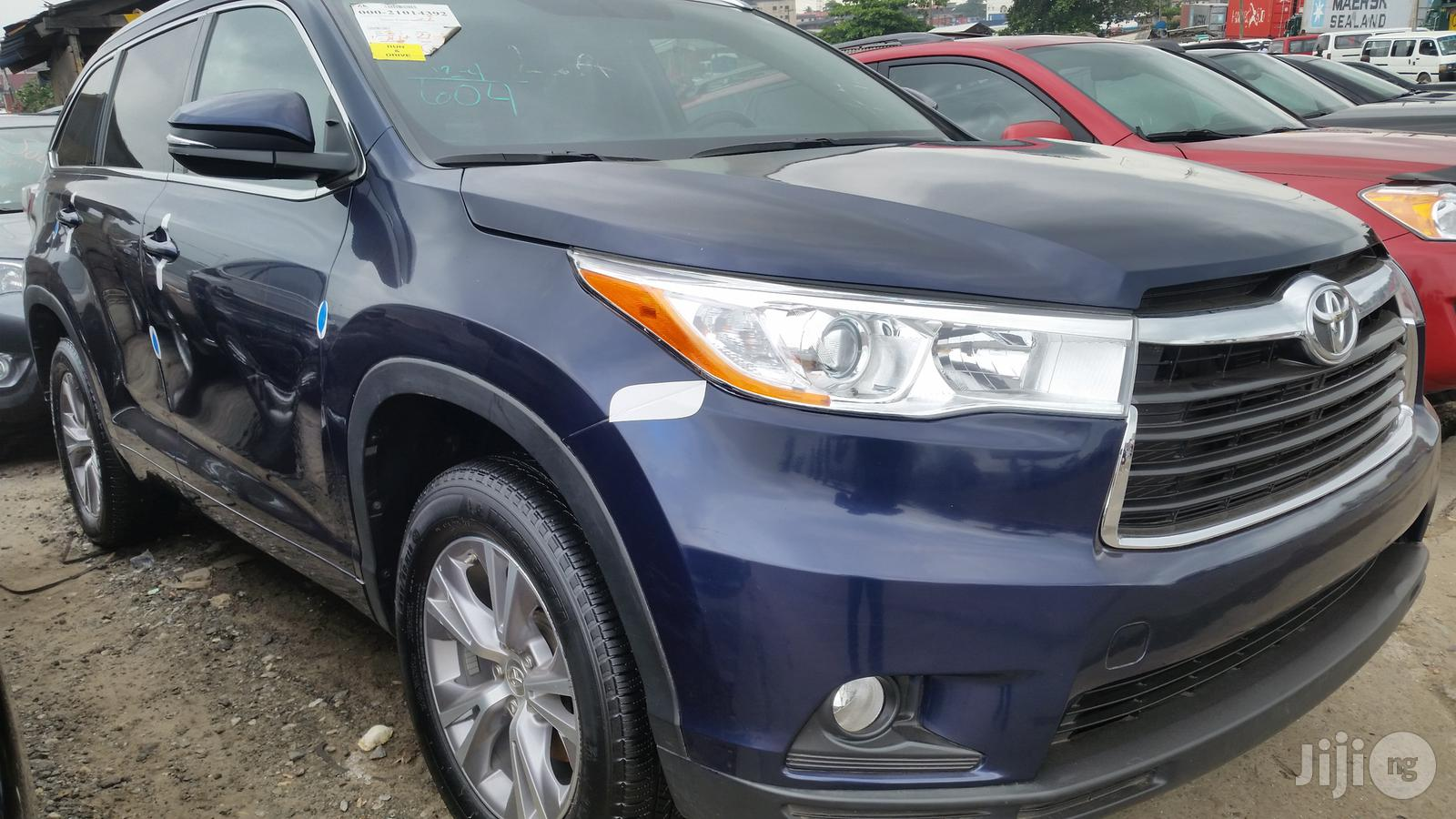 Tokunbo Toyota Highlander 2015 Blue In Lagos State Cars Obj Automobile Gmi Jiji Ng For Sale In Lagos Buy Cars From Obj Automobile Gmi On Jiji Ng