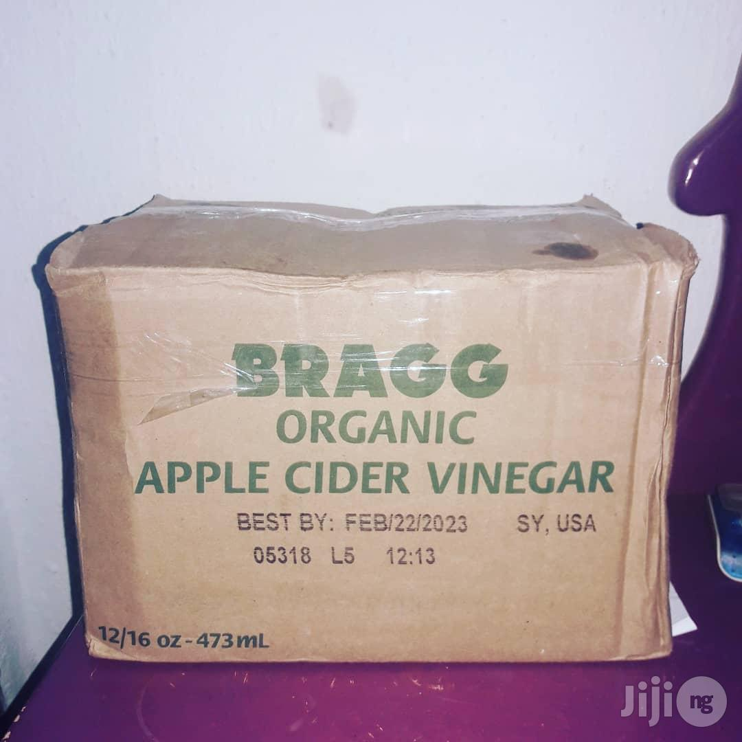 Bragg's Raw Unfiltered Apple Cider Vinegar - 473ml - 12 | Meals & Drinks for sale in Ikotun/Igando, Lagos State, Nigeria