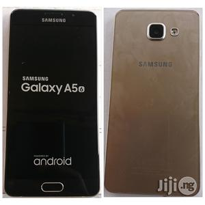 Samsung Galaxy A5 2016 Gold 16 GB With Finger Print Sensor   Mobile Phones for sale in Lagos State