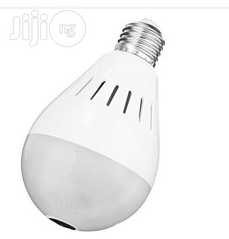 Universal Led Wifi Bulb IP Camera With Night Vision & Smartphone | Security & Surveillance for sale in Ikeja, Lagos State, Nigeria