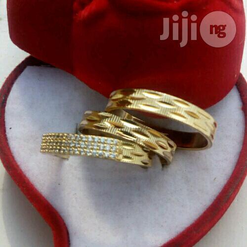 Romania Light Gold Wedding Ring