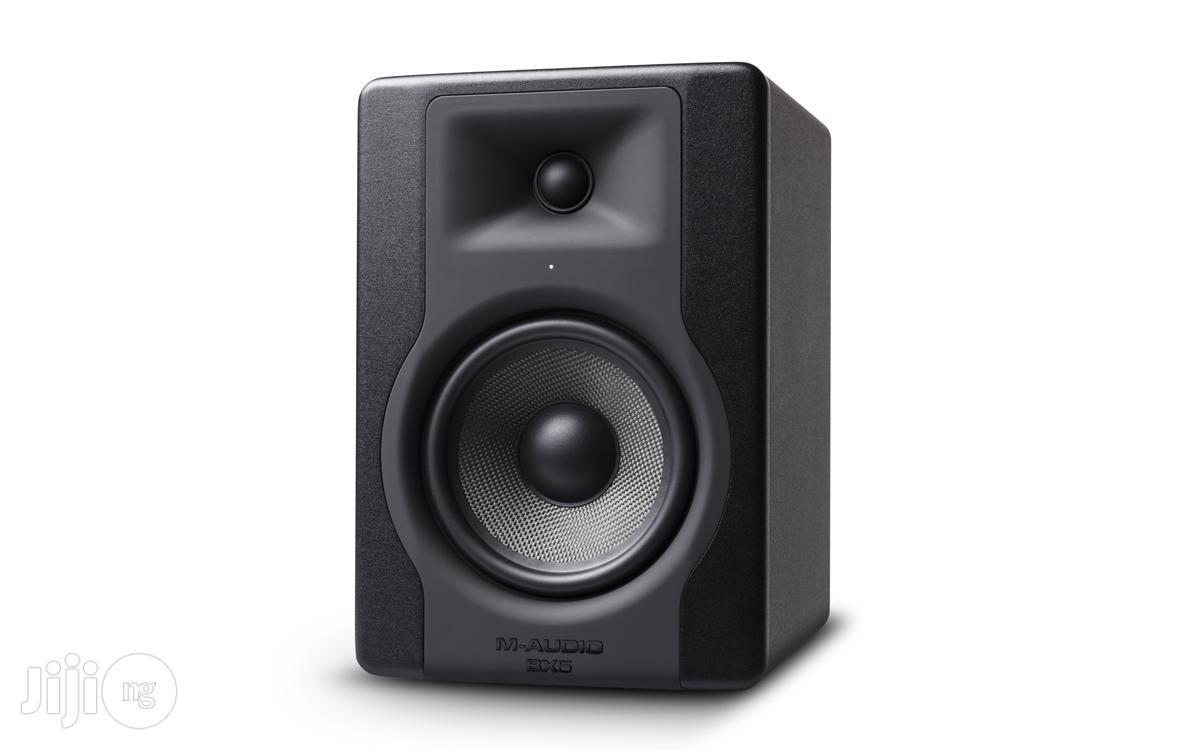 M-audio BX5 D3 Studio Monitors / Monitor Speakers / Speaker | Audio & Music Equipment for sale in Surulere, Lagos State, Nigeria