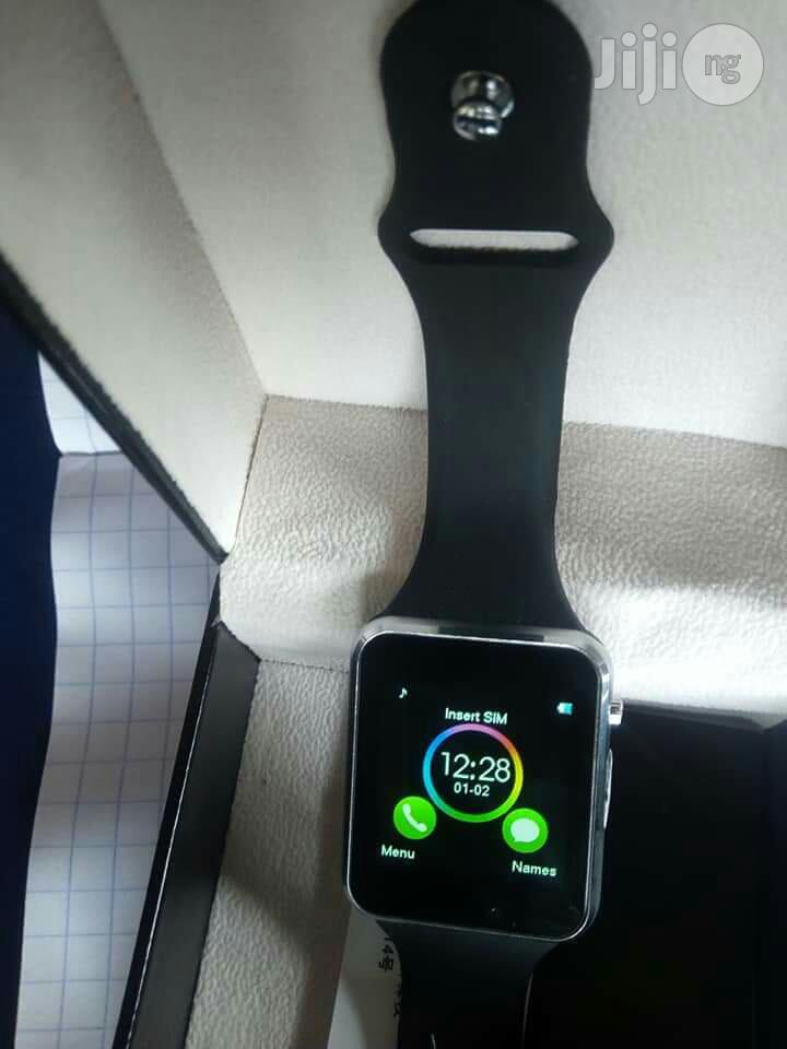Smart Wrist Watch Sim/Memo Supported | Smart Watches & Trackers for sale in Lagos State, Nigeria