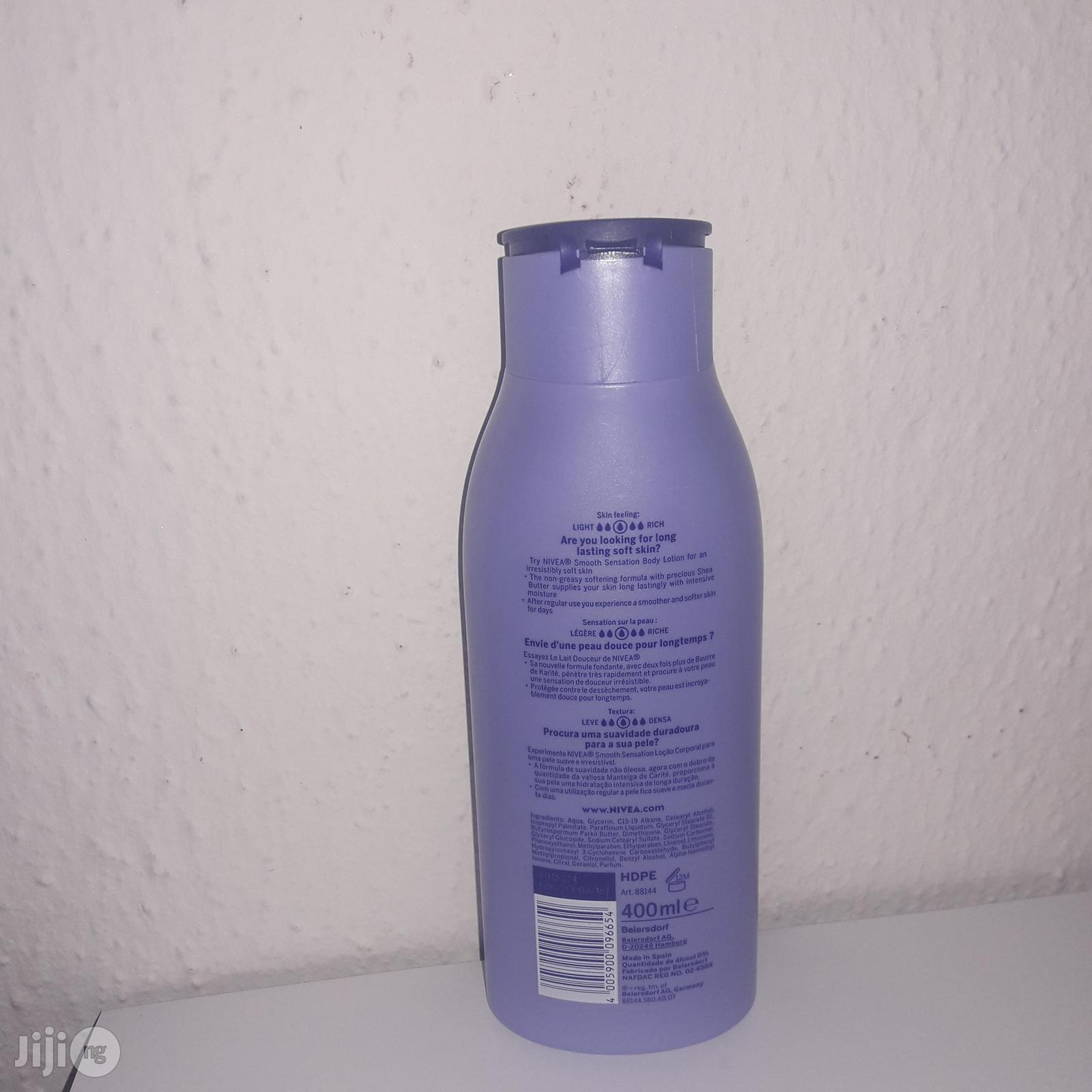 Nivea Smooth Sensation Body Lotion | Bath & Body for sale in Alimosho, Lagos State, Nigeria