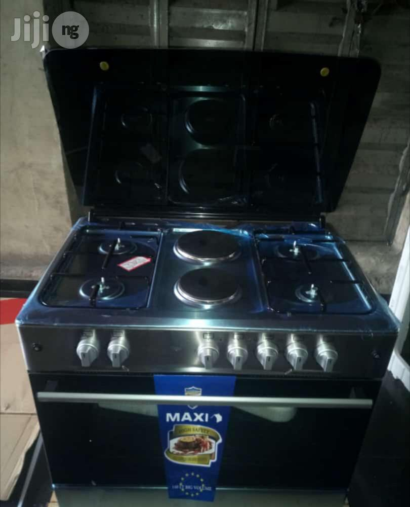 6burner Standing Gas Cooker 4gas 2electric With Oven