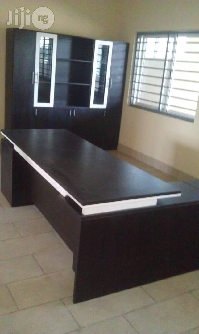 Executive Office Table and Book Shelves