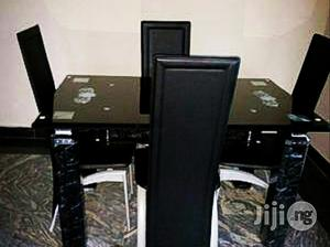 Strong 4-seater Glass Dining Table | Furniture for sale in Lagos State, Ikeja