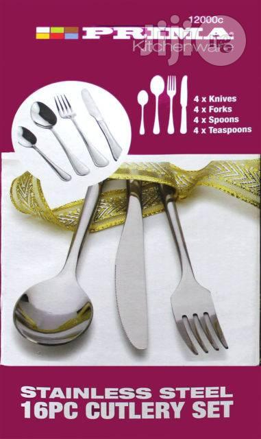 Archive: Prima Harley 16 Piece Stainless Steel Cutlery Set in Gift Box