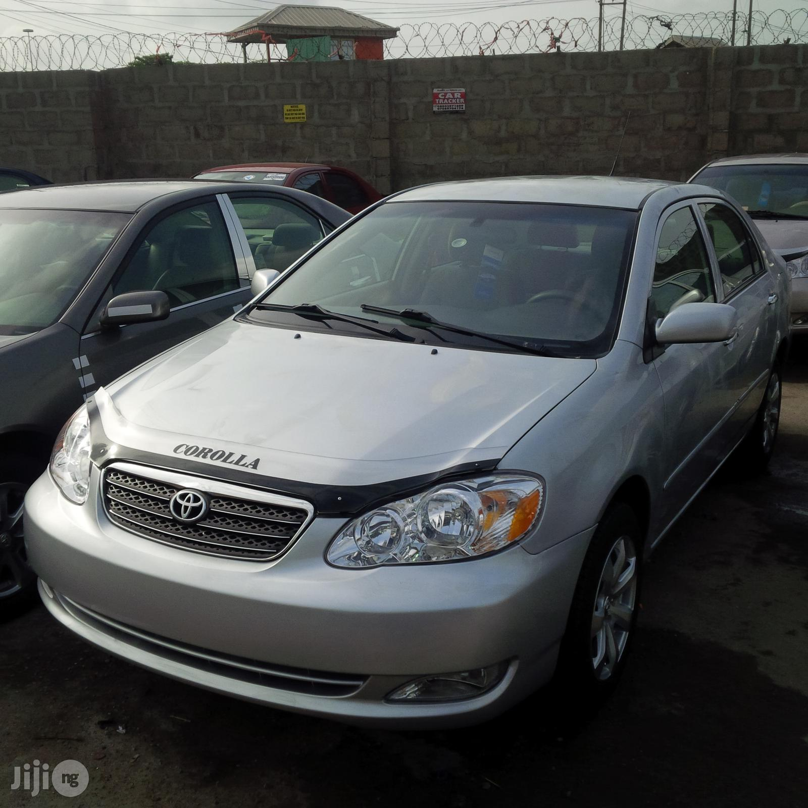 Archive Tokunbo Toyota Corolla Ce 2007 Silver In Lagos State Cars Obj Automobile Gmi Jiji Ng