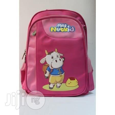 Kiddies School Bag - Pink
