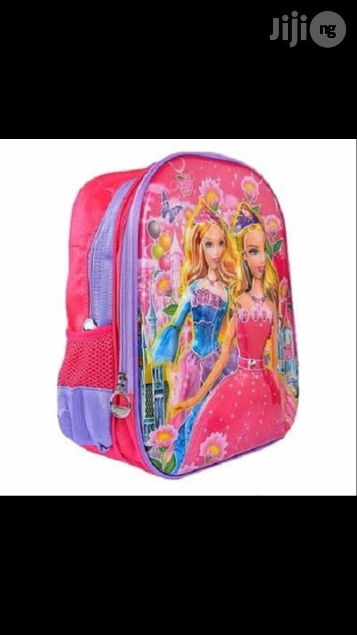 Kiddies School Bag - Pink 2-4years