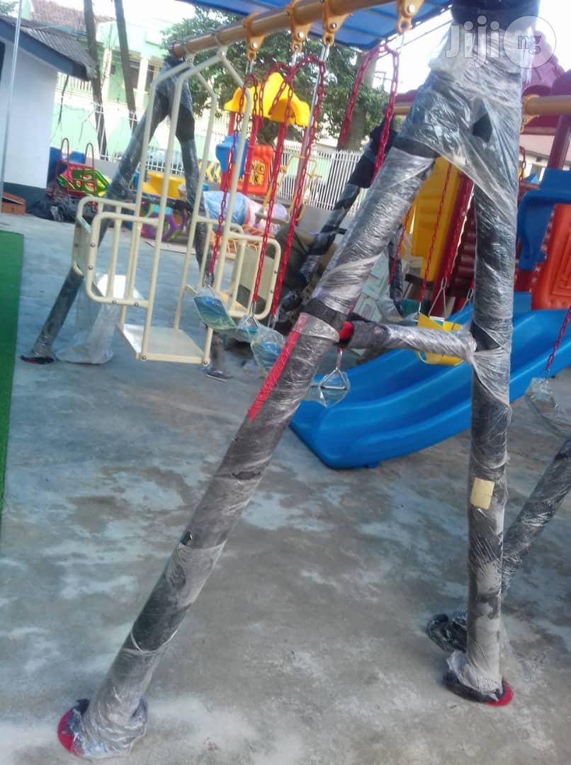 Standard Iron 4 In 1 Swing For Schools,Parks,Eateries Etv