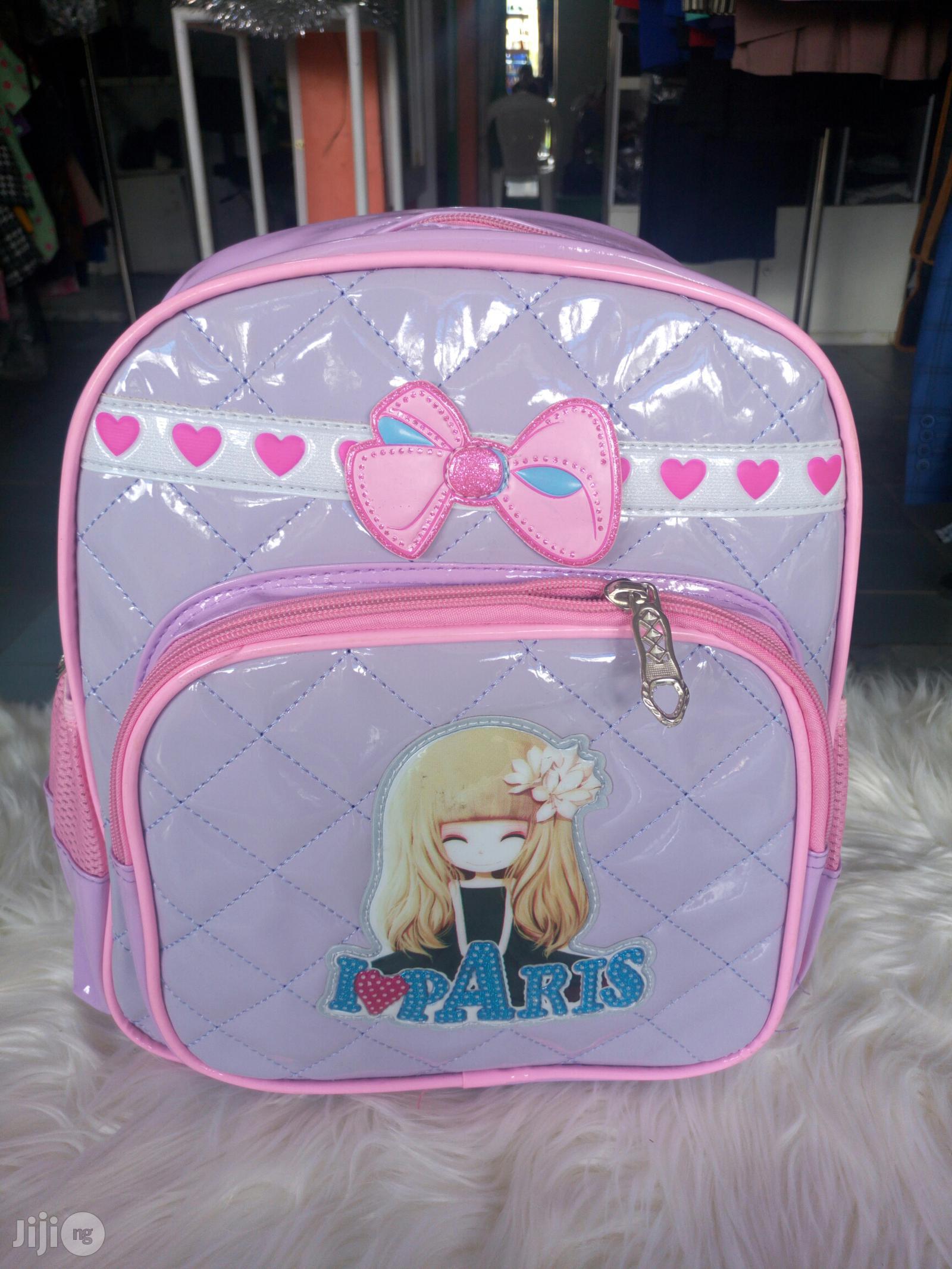 Princess Baby School Back Bag