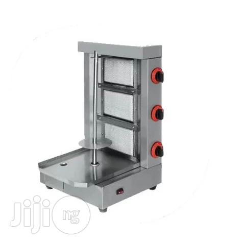 3-Burner Gas Shawarma Grill Machine