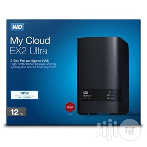WD 12TB My Cloud EX2 Ultra 2-Bay Cloud Storage Server