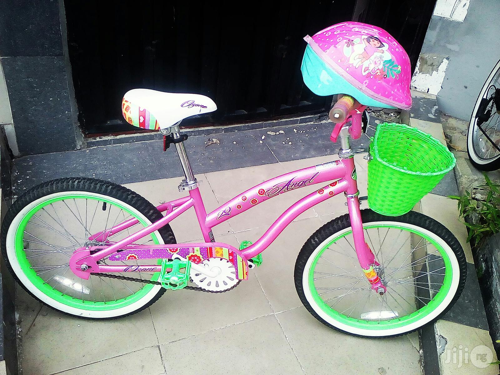 Angel Size 20 Children Bicycle With Helmet for Age 7 to 15