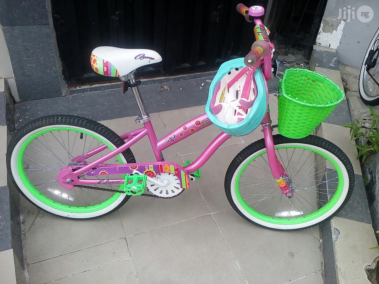 Angel Size 20 Children Bicycle With Helmet for Age 7 to 15   Toys for sale in Ikoyi, Lagos State, Nigeria