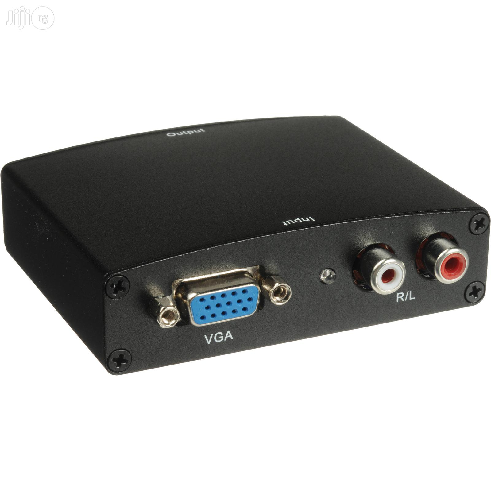 VGA To HDMI PC (Vga) + Audio (L/R) To HDMI Converter