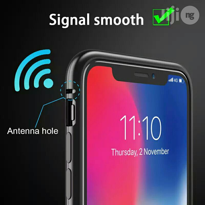 Magnetic Adsorption Case for iPhone X 8 Plus 7 6 6S + Metal | Accessories for Mobile Phones & Tablets for sale in Ikeja, Lagos State, Nigeria