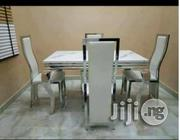 Marble Dining Table & 4 Chairs | Furniture for sale in Lagos State, Alimosho