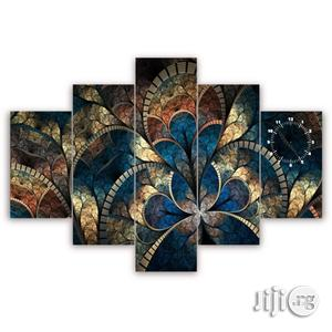 Abstract 5pc Wall Canvas (Reference: Cp201) | Home Accessories for sale in Lagos State, Agege