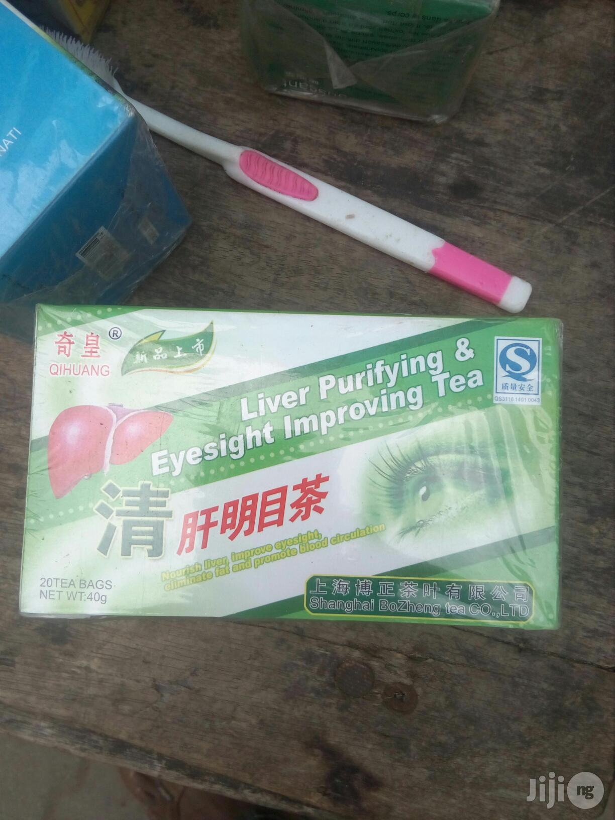 2 Pack Liver Purifying Eyesight Improving Tea (40bags) -80g | Vitamins & Supplements for sale in Apapa, Lagos State, Nigeria