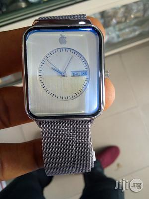 Apple Watch Silver For Men | Smart Watches & Trackers for sale in Rivers State, Port-Harcourt
