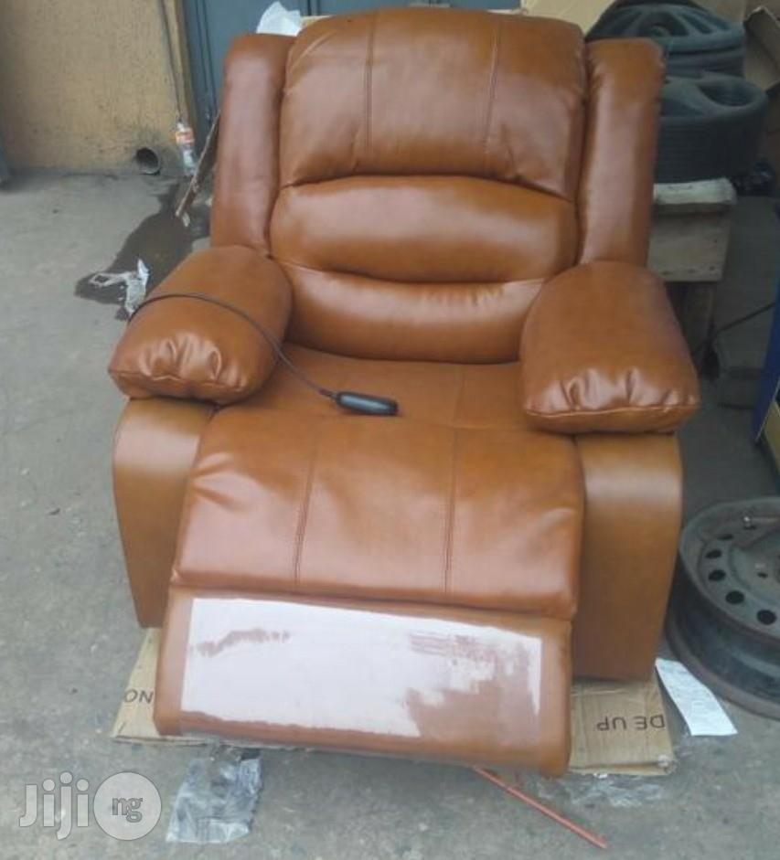 Pure Italian Leather Chairs Recliners