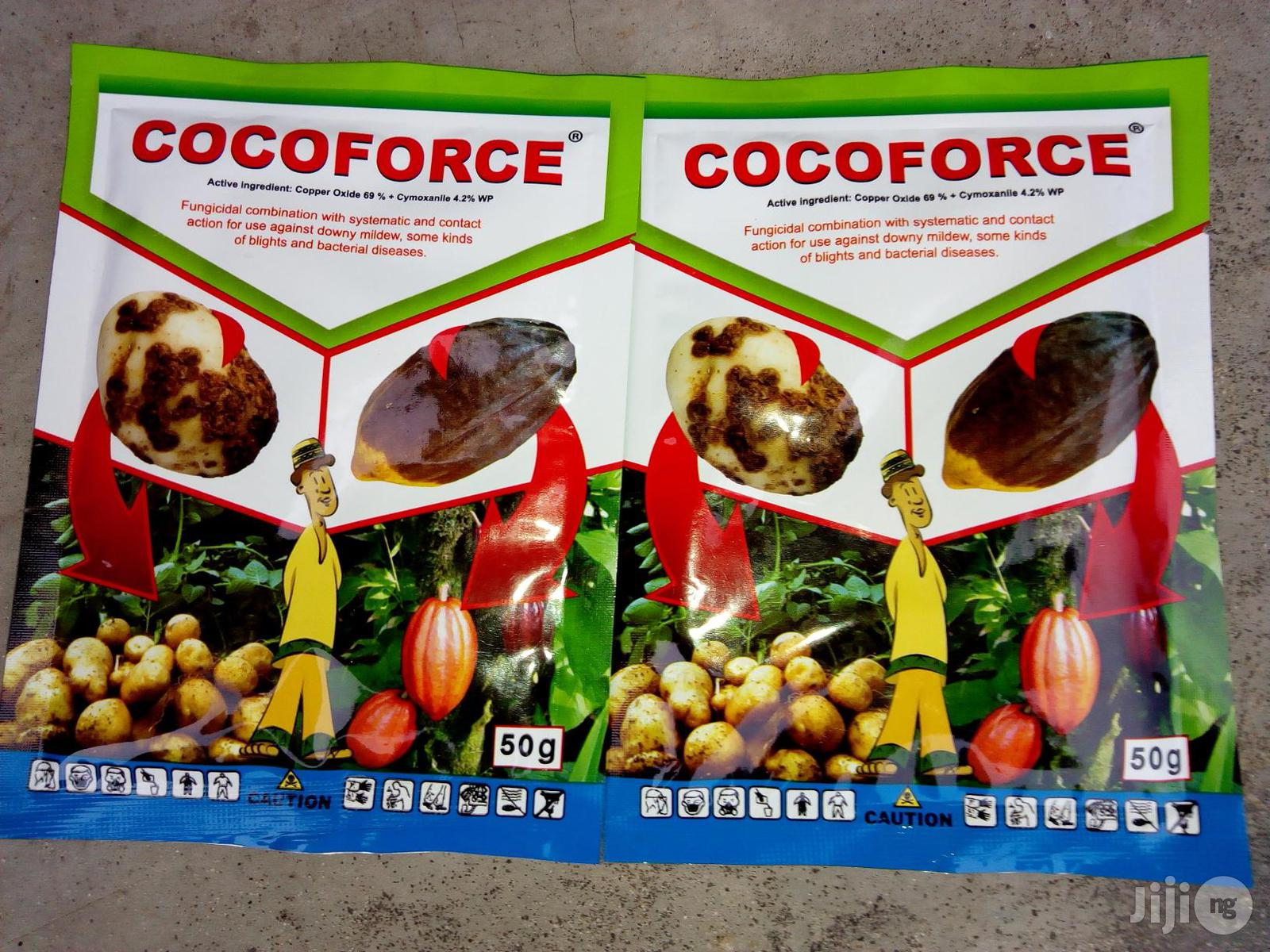 Archive: Cocoforce Systematic And Contact Action Fungicide