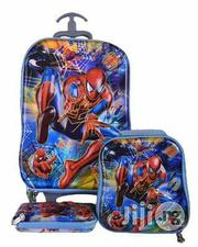 5D 3 In 1 Children Backpack And Trolley Set | Bags for sale in Lagos State