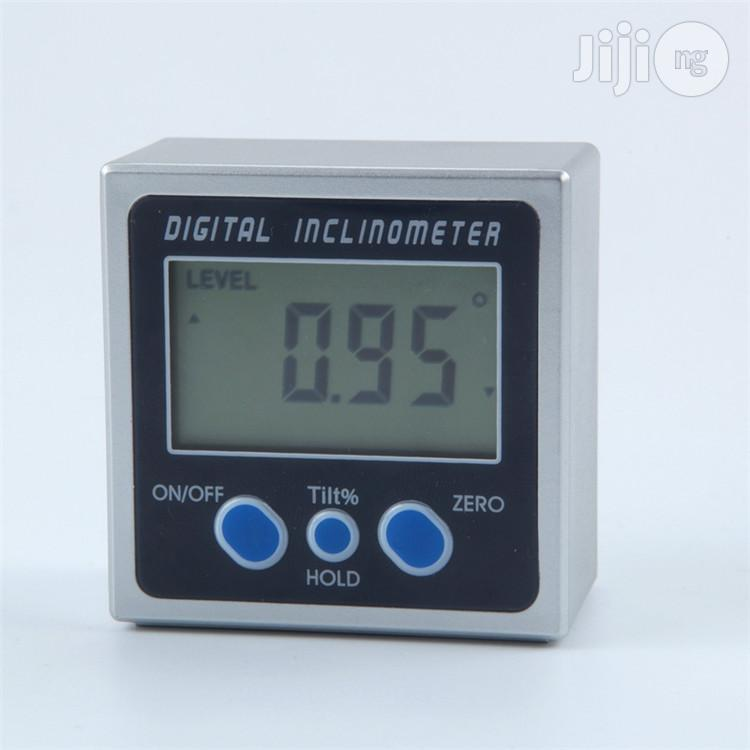 Mini Digital Inclinometer Electronic Protractor | Measuring & Layout Tools for sale in Ifako-Ijaiye, Lagos State, Nigeria